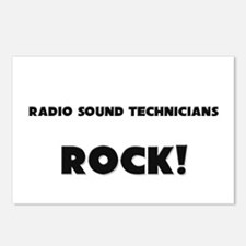 Radio Sound Technicians ROCK Postcards (Package of
