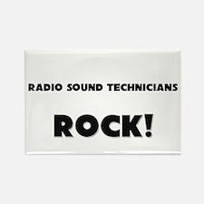 Radio Sound Technicians ROCK Rectangle Magnet (10