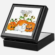 Sealyham Terrier Halloween Au Keepsake Box