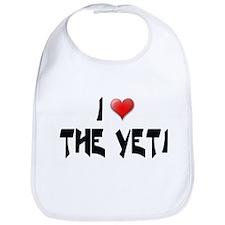 I LOVE THE YETI Bib