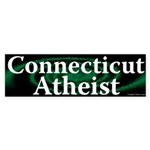 Connecticut Atheist Bumper Sticker