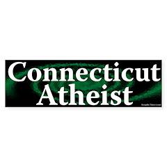 Connecticut Atheist Bumper Bumper Sticker