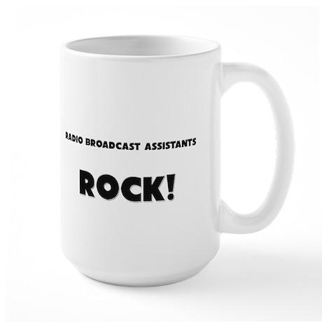 Radio Broadcast Assistants ROCK Large Mug