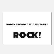 Radio Broadcast Assistants ROCK Postcards (Package
