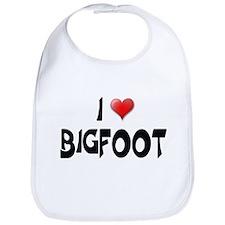 I LOVE BIGFOOT Bib
