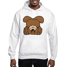 Upside Down Bear Hoodie Sweatshirt