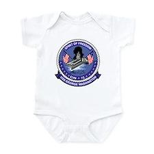 Cool Uss nimitz Infant Bodysuit