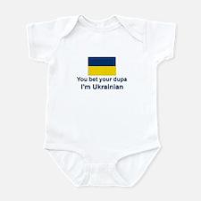 Ukrainian Dupa Infant Bodysuit
