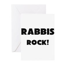Rabbis ROCK Greeting Cards (Pk of 10)