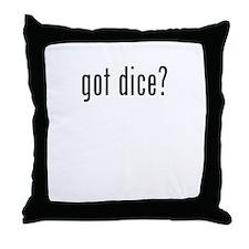 got dice Throw Pillow
