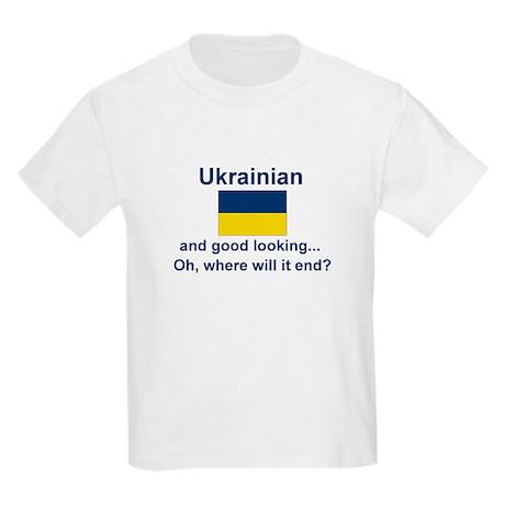 Good Looking Ukrainian Kids Light T-Shirt
