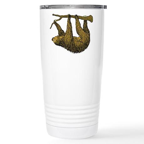 Sloth Stainless Steel Travel Mug