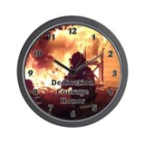 Firefighter Wall Clocks