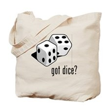 got dice (with picture) Tote Bag