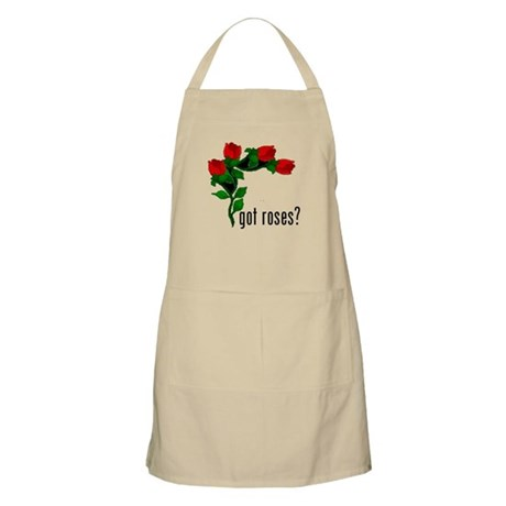 got roses (with picture) BBQ Apron
