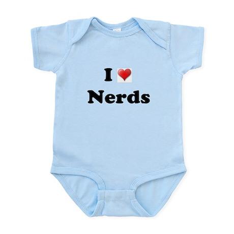 I LOVE NERDS Infant Creeper