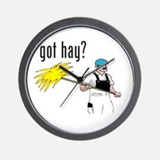 got hay Wall Clock