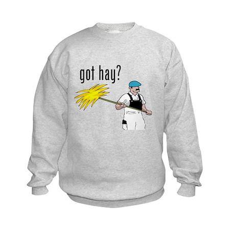 got hay Kids Sweatshirt
