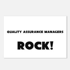 Quality Assurance Managers ROCK Postcards (Package