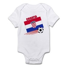 Croatia Soccer Team Infant Bodysuit