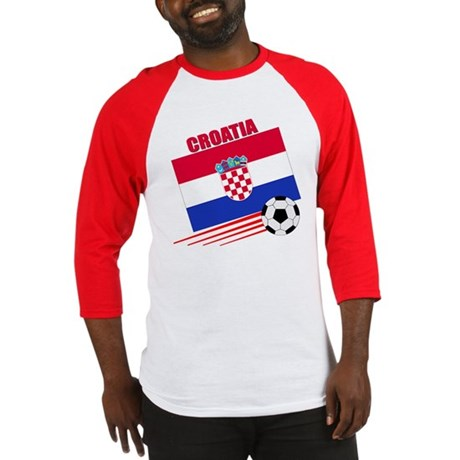 Croatia Soccer Team Baseball Jersey