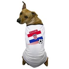 Croatia Soccer Team Dog T-Shirt