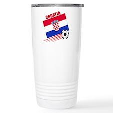 Croatia Soccer Team Travel Mug