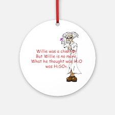Willie Ornament (Round)