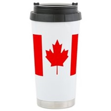 Canadian Flag Travel Mug