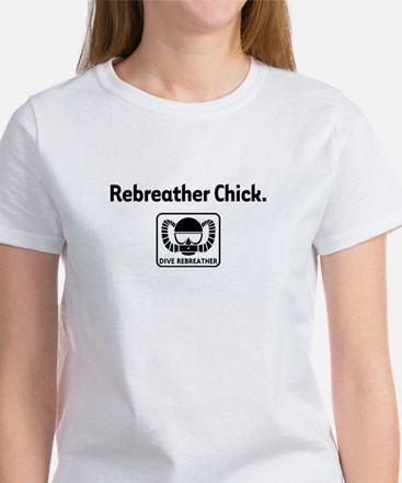 Rebreather Chick Women's T-Shirt
