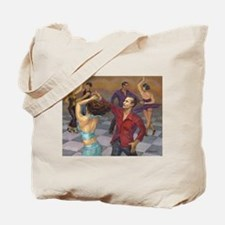 Unique Latin dancing Tote Bag