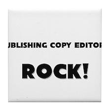 Publishing Copy Editors ROCK Tile Coaster