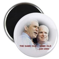Bush McCain: The Same Old Same Old Magnet