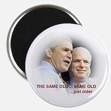 Bush McCain: The Same Old Same Old Magnet