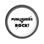 Publishers ROCK Wall Clock