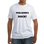Publishers ROCK Fitted T-Shirt
