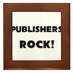 Publishers ROCK Framed Tile