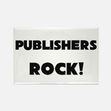 Publishers ROCK Rectangle Magnet