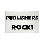 Publishers ROCK Rectangle Magnet (10 pack)