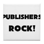 Publishers ROCK Tile Coaster