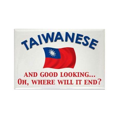 Good Looking Taiwanese Rectangle Magnet