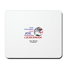 Joe Lieberman VP McCain Mousepad