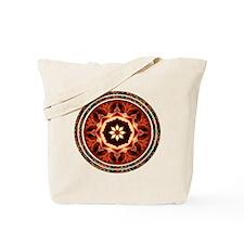 Kaleidoscope Rose Tote Bag