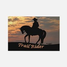 Trail Rider - Rectangle Magnet