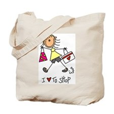 I Love to Shop! Tote Bag