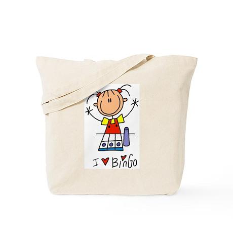 I Love Bingo! Tote Bag
