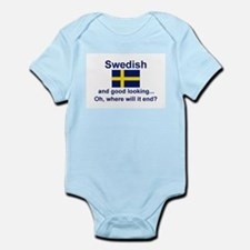 Good Looking Swede Infant Bodysuit