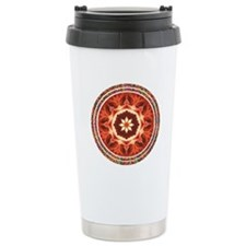 Kaleidoscope Rose Travel Mug