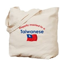 Happily Married Taiwanese Tote Bag