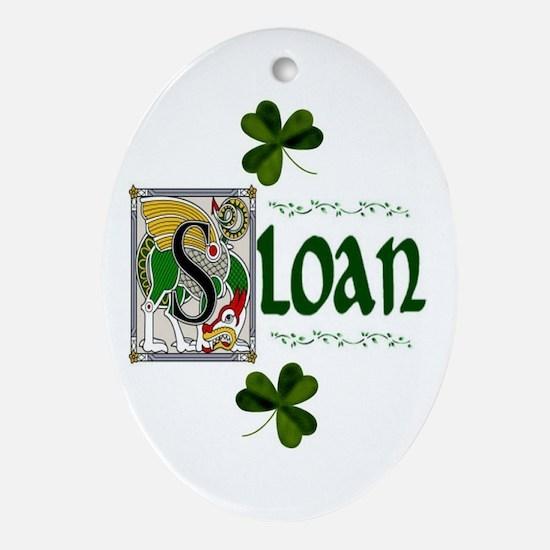 Sloan Celtic Dragon Ornament